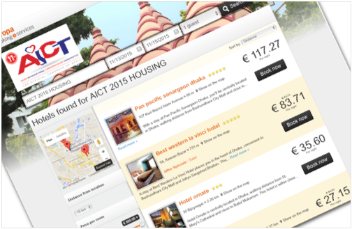 site hebergement | site inscription  | hebergement en ligne  | site evenement  | site congres
