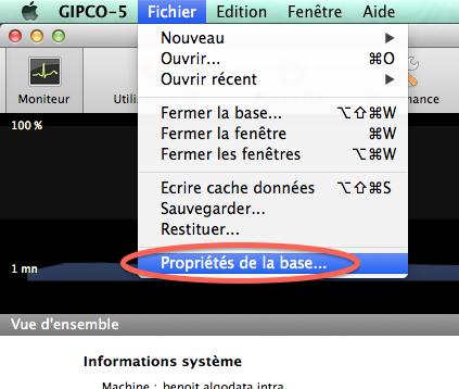 Configuration du serveur Gipco