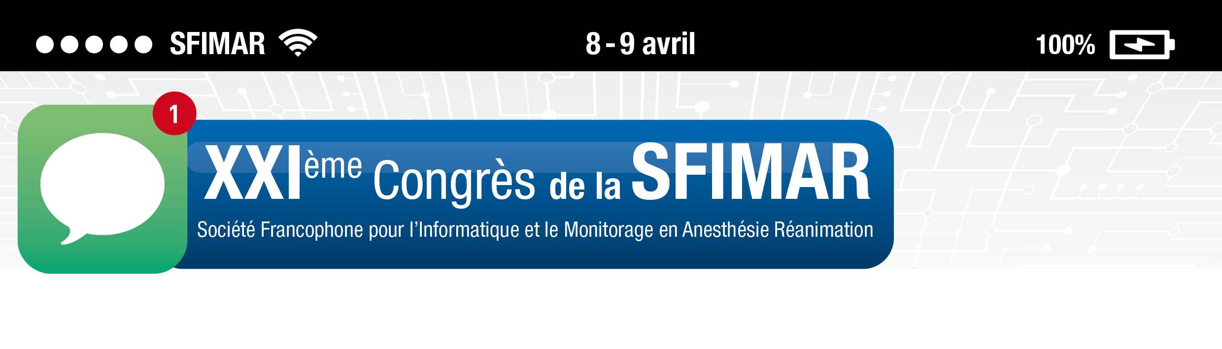 SFIMAR - 8 & 9 avril 2016 Grenoble