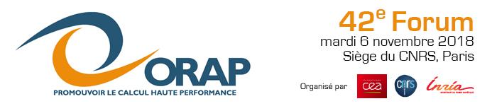 ORAP - 42e Forum - 6 novembre 2018