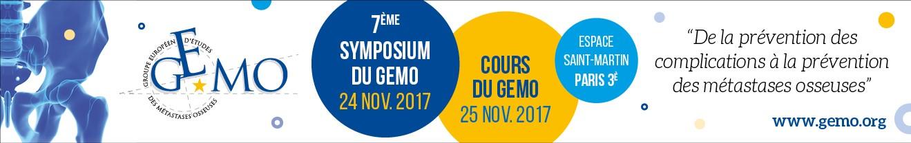 Symposium et cours du GEMO 2017