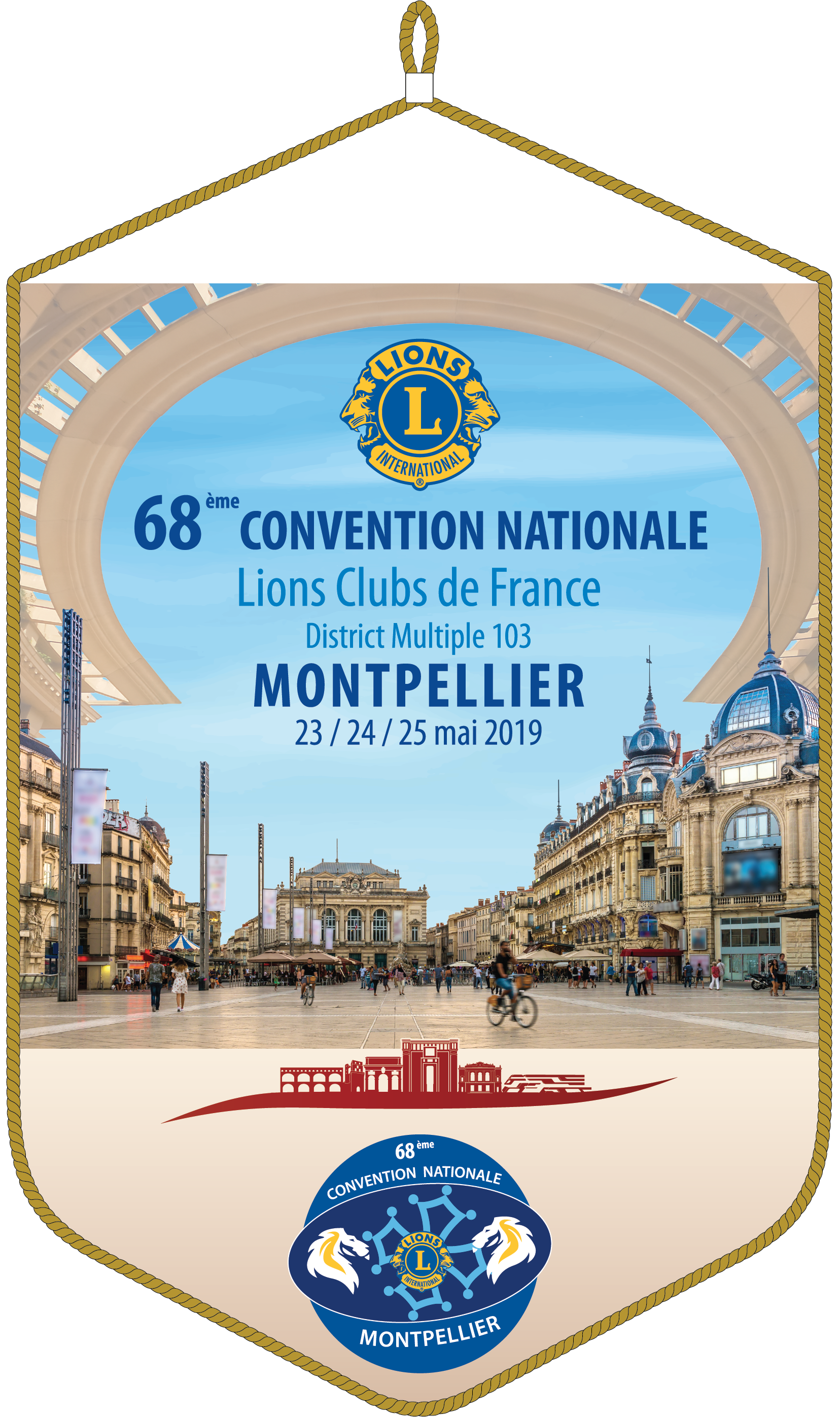 68e Convention nationale Lions 2019 - Montpellier