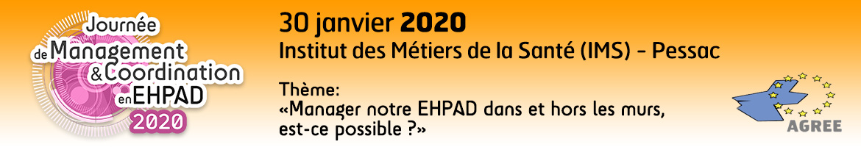 Journée de Management et Coordination en EHPAD - AGREE / AMC EHPAD Sud Ouest